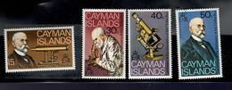Cayman Iles - Koch - Découverte Du Bacille De La Tuberculose- Série De 4 Timbres - 1982 - America Centrale