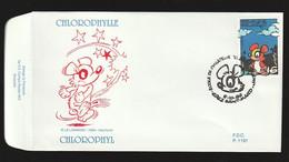 FDC - Chlorophylle - B.D. -  Timbre N° 2663 - Tampon Saint-Mard - 1991-00