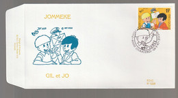 FDC - Gil Et Jo / Jommeke - B.D. -  Timbre N° 2707 - Tampon Charleroi /Junex - 1991-00