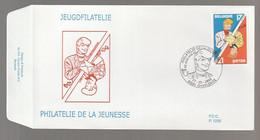 FDC - Ric Hochet Et Chick Bill - B.D. -  Timbre N° 2785 - Tampon Charleroi - 1991-00