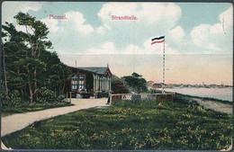 Memel, Klaipėda / Strandhalle - Posted 1912 - Lituania