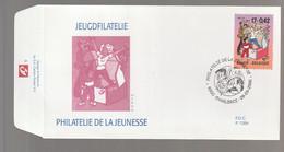 FDC - Quivoilà / Kiekeboe -  Timbre N° 2934 - Tampon Charleroi - 1991-00