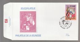 FDC - Quivoilà / Kiekeboe -  Timbre N° 2934 - Tampon Brugge - 1991-00