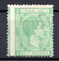 CUBA - (République) - 1877 - N° 17 - 10 C. Vert - (Alphonso XII) - Altri