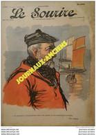 1903 LE SOURIRE - Journal Humoristique - Dessins De HUARD - NAM - POULBOT - LOURDEY - VILLEMOT - ETC .... - 1900 - 1949