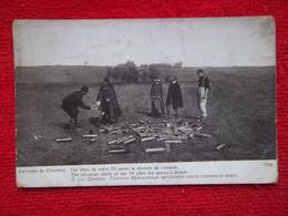 """Carte Avec Franchise Militaire """"les Obus De 75"""" - 1914-18"""
