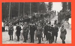 Pocol Belluno Cerimonia Al Campo Santo Ufficiali Regio Esercito Milizia Camicie Nere  Foto D'archivio - Riproduzioni
