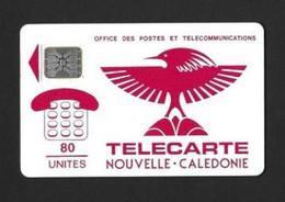 Télécarte. Carte Téléphonique.   Nouvelle Calédonie.   80 U. - Neukaledonien
