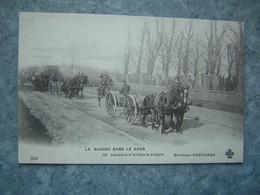 ENV. D' ESTAIRES - CAISSON D' ARTILLERIE ANGLAIS - War 1914-18