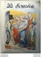 1903 LE SOURIRE - Journal Humoristique - Dessins De CADEL - FLORÉS - BERTRAND - THOMEN - BOFA - ROUBILLE - ETC ... - Altri
