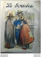 1903 LE SOURIRE - Journal Humoristique - Dessins De CADEL - BERTRAND - POULBOT - Jean VILLEMOT - ROUBILLE ETC ... - Altri
