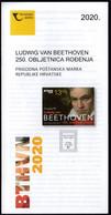 Croatia 2020 / 250th Anniversary Of The Birth Of Ludwig Van Beethoven / Prospectus, Leaflet, Brochure - Croazia