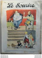1903 LE SOURIRE - Journal Humoristique - Dessins De CADEL - ROUBILLE - HELLÉ - FLORÉS ( QUIMPERLÉ ) ETC ... - Altri