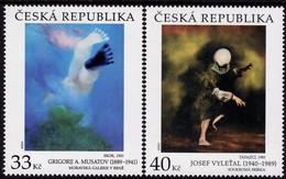 Czech Republic - 2020 - Art On Stamps - Grigorij Musatov And Josef Vyletal - Mint Stamp Set - Ungebraucht