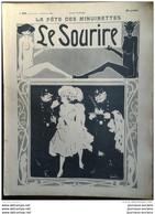 1904 LE SOURIRE - Journal Humoristique - Dessins De GRÜN - MICH - POULBOT - MIRANDE ETC ... - Altri