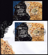 Croatia 2020 / Minerals And Rocks, Hraschina Meteorite, Lithothamnium Limestone / Mint Block + FDC - Croazia