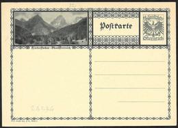 Austria/Autriche: Intero, Stationery, Entier, Montagne Austriache, Austrian Mountains, Montagnes Autrichiennes - Other
