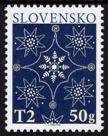 Slovakia - 2020 - Christmas 2020 - Traditional Slovak Blueprint - Mint Stamp - Unused Stamps