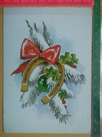 KOV 8-249 - New Year, Bonne Annee, Horseshoe, Fer à Cheval, Potkovica,, - Anno Nuovo