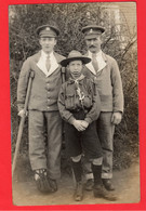 SOUTHAMPTON NETLEY WAR RED CROSS VAD HOSPITAL  WOUNDED  AND BOY SCOUT   RP - Southampton