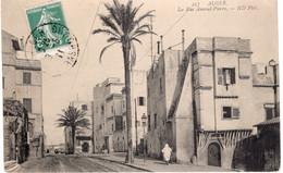 CPA  ALGER - LA RUE AMIRAL PIERRE - Algiers