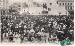 CPA  ALGER - PLACE DU GOUVERNEMENT UN JOUR DE MUSIQUE - Algiers