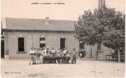CPA  ALGER - L'ARSENAL LA CANTINE - Algiers