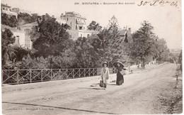 CPA  ALGER - MUSTAPHA BOULVARD BON ACCUEIL - Algiers