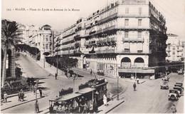 CPA  ALGER - PLACE DU LYCEE AT AVENUE DE LA MARNE - Algiers