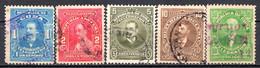 CUBA - (Occupation Espagnole) - 1911 - Télégraphe - N° 89 à 94 - (Lot De 5 Valeurs Différentes) - Telegrafo