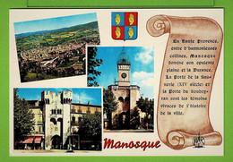 MANOSQUE / LA PORTE SAUNERIE / LA PORTE SOUBEYRAN  ... Carte Vierge - Manosque