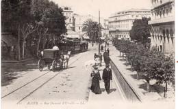 CPA  ALGER - RUE DUMONT D'URVILLE - Algiers