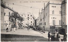 CPA  ALGER - LA PLACE MALAKOFF - Algiers