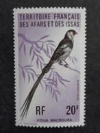 1975 AFARS ET ISSAS Y&T N° 410 ** - OISEAUX - Unused Stamps