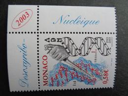 MONACO 2003  Y&T N° 2405 ** - CINQUANTENAIRE DE LA DECOUVERTE DE LA STRUCTURE DE L'ADN - Unused Stamps