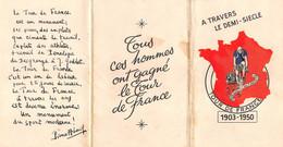 TOUR DE FRANCE 1950 - 37e Tour De France - Pochette Complète Avec Ses 8 CPA Officielles Du Tour .Le Parisien- L'Equipe - Cycling