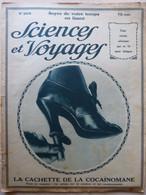 """Revue """"Sciences Et Voyages"""" 1924 La Cocaïne Origine Maux Bienfaits Cocaïnomane Stupéfiant Drogue Drug (4 Scans) - 1900 - 1949"""