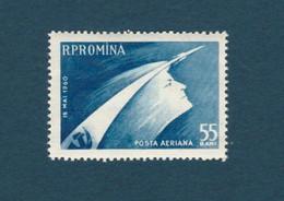 """ROMANIA 497, 1960, Airmail - Soviet Space Ship """" Vostok"""", Poste Aérienne - Vaisseau Spatial Soviétique """"Vostok"""" - Sin Clasificación"""