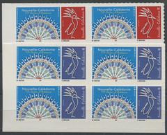Nouvelle Caledonie (2019) N 1381 A 1382 (Luxe) Autoasdhesifs (Bloc De 4) - Unused Stamps