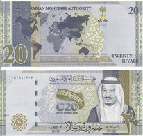 Saudi Arabia - 20 Riyals 2020 UNC Comm. Lemberg-Zp - Arabie Saoudite