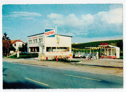 VITTEL : Relais Des Sources, Station Service TOTAL - M.Colin - Vittel Contrexeville