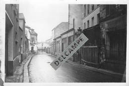 PARIS - PHOTO COLLECTION JEAN HENRY - Vieille Rue D'autrefois Imprimerie- Quartier à Situer - Photo Originale - Lieux