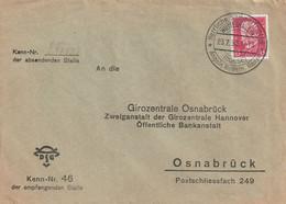 """Deutsches Reich / 1930 / Brief Werbe-Stempel """"WUSTERHAUSEN"""" (C945) - Brieven En Documenten"""