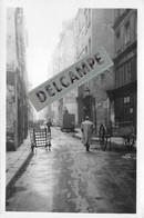 PARIS - PHOTO COLLECTION JEAN HENRY - Vieille Rue  D'autrefois CLOUTERIE Quartier à Situer - Photo Originale - Lieux