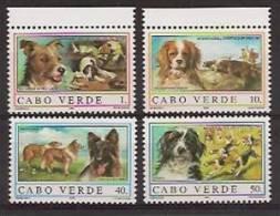 CAPE VERDE 1995 Dogs NO GUM - Islas De Cabo Verde