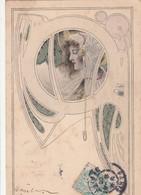 CPA  ART NOUVEAU    M.M. VIENNE - Non Classés