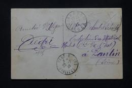 ALGÉRIE - Oblitération De Birkadem Sur Carte Postale En 1925 Pour La France, Affranchissement Disparu - L 79607 - Briefe U. Dokumente