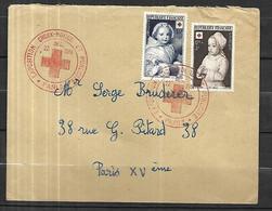 France  Croix - Rouge  Lettre Du 22  Décembre 1951 De Paris  Intérieur - Covers & Documents