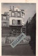 PARIS 5e - PHOTO COLLECTION JEAN HENRY - Vieux Paris Place Lucien Herr, Angle De La Rue Tournefort - Photo Originale - Lieux