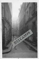PARIS 5e - PHOTO COLLECTION JEAN HENRY - Vieux Paris Impasse De La Rue D'Ambroise - Photo Originale - Lieux